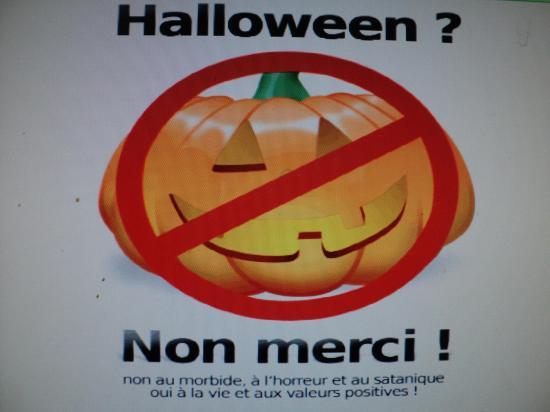 Halloween non merci !