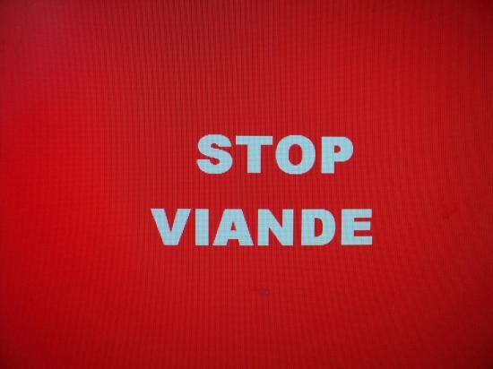 stop viande !