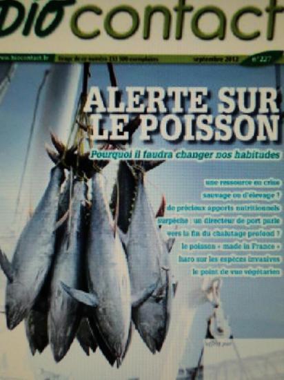 Biocontact/Alerte sur le poisson !
